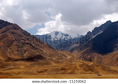 HIgh Mountain in Peru
