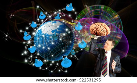 High network thinking.internet technology