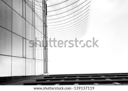 High Perspektive - stock photo