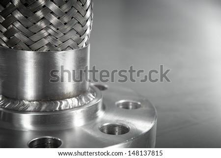 High Pressure Hose Component - stock photo