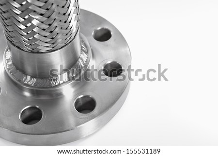 High Pressure Hose Component - stock photo