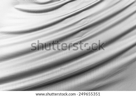 High quality black abstract cloth background . - stock photo
