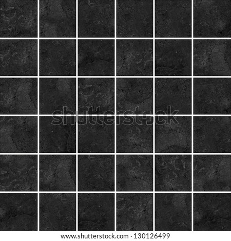 High-quality Black mosaic pattern background. - stock photo