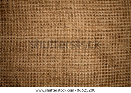 High quality burlap or sacking or sackcloth  texture - stock photo