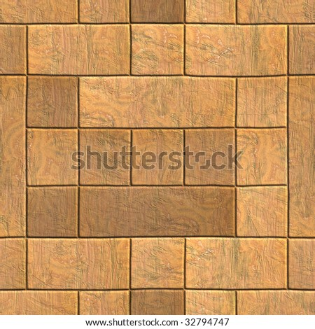 High quality computer generated texture of brick wall