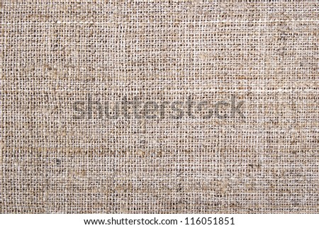 High Quality Hessian, Burlap, Sacking Background, Texture - stock photo
