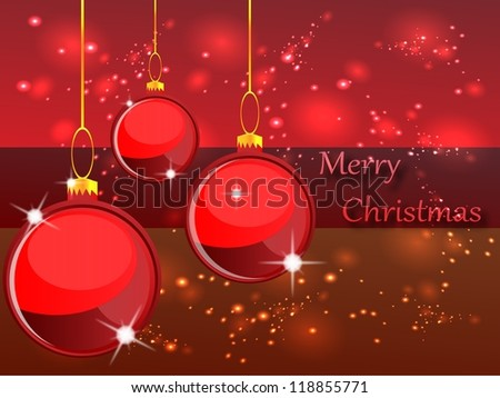 High-quality illustration for the New Year holidays./Merry Christmas - stock photo