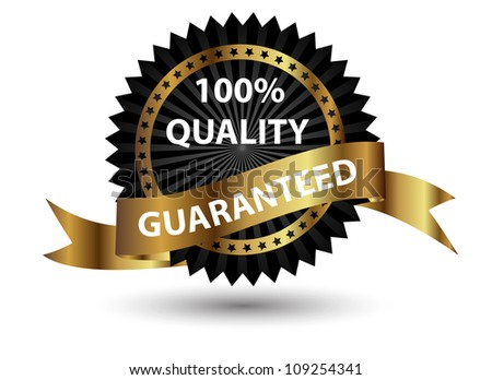 High quality label.  Raster version illustration sign. - stock photo