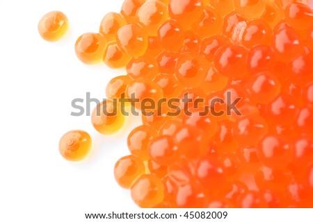 High Quality Red Caviar - stock photo