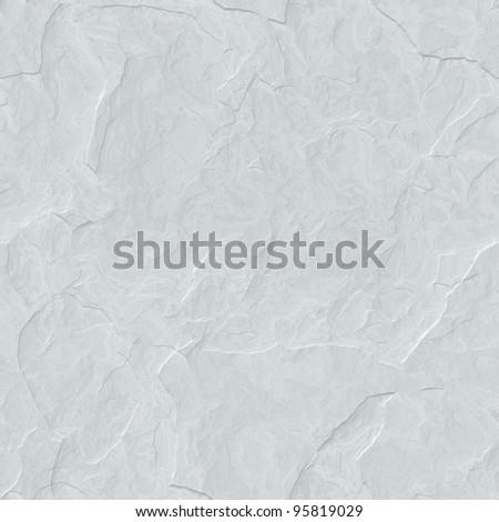 high quality seamless bright grey stone texture - stock photo