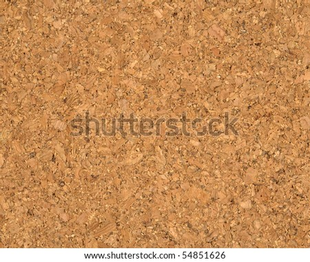 High quality texture of the cork board, the high accuracy of the details - stock photo