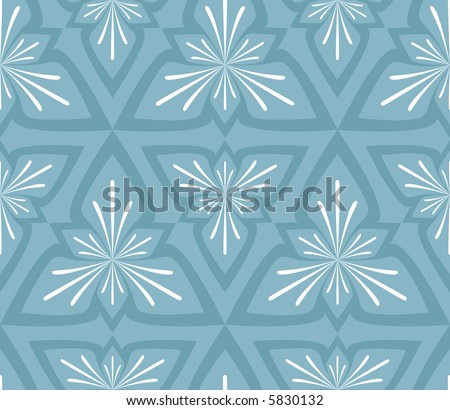 High resolution abstract seamless background pattern in winter colors - stock photo