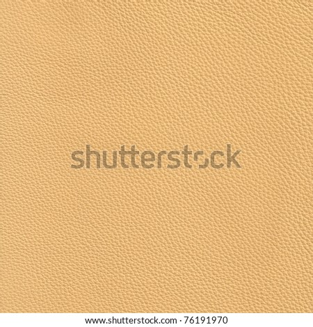 High resolution beige leather - stock photo