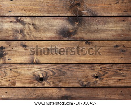 High resolution brown floor boards - stock photo