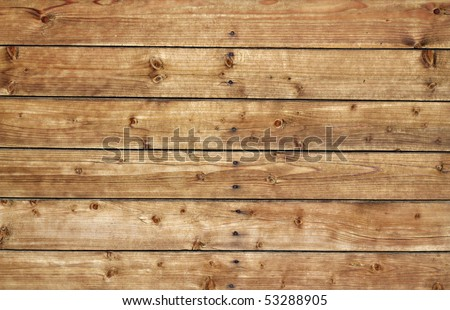 High resolution brown wood plank back ground - stock photo