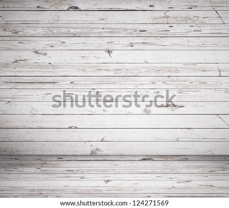 High resolution brown wooden room - stock photo