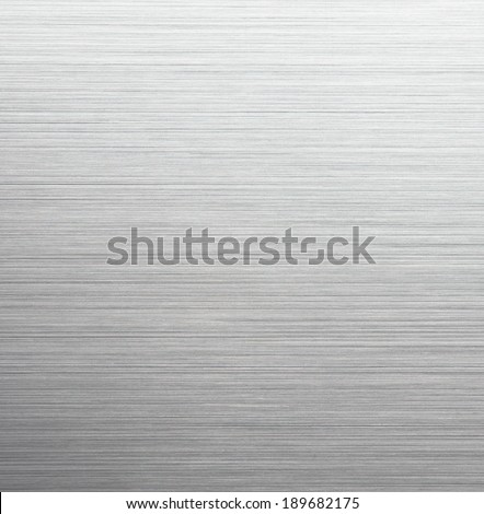 High resolution, brushed metal. Sharp to the corners, Darker on lower section. - stock photo
