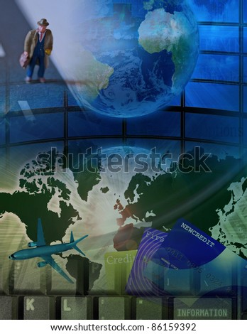 High Resolution Business Travel - stock photo