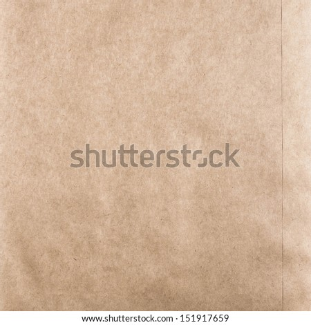High resolution cardstock with halftone.  Crumpled recycled paper  texture or background. Vintage craft paper texture.  - stock photo