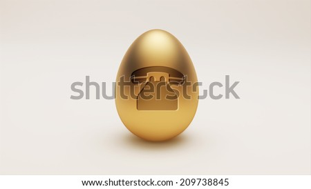 High Resolution Egg Contact Icon