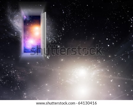High Resolution Entrance Exit - stock photo