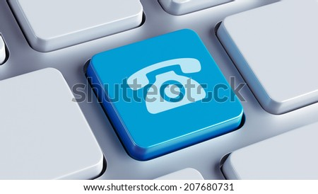 High Resolution Keyboard Contact Icon