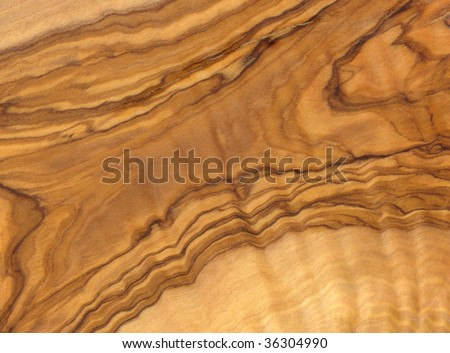 High resolution of wooden olive texture to background - stock photo
