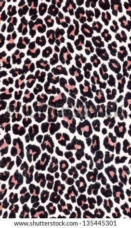 High resolution scan of fabric with a Cheetah or leopard animal print and pattern. A closer look at the detail gives all the texture and color.  - stock photo