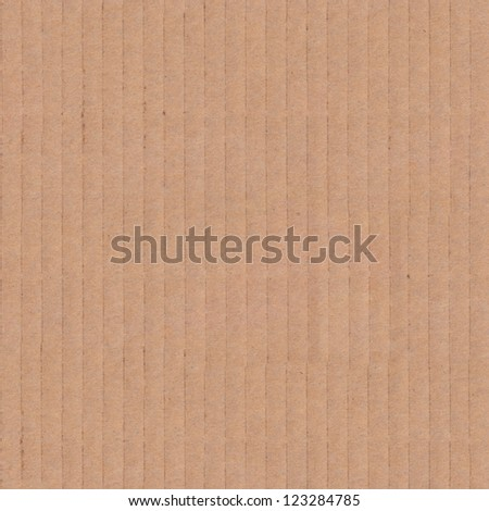 High Resolution Seamless  Tileable Cardboard Texture. - stock photo