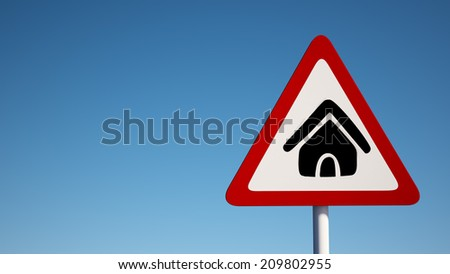 High Resolution Sign Home Icon