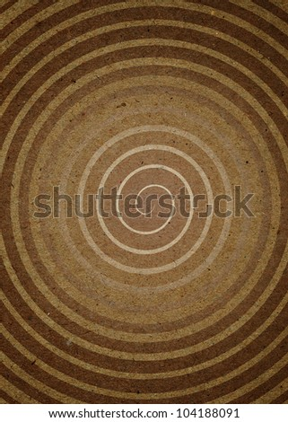 High resolution Spiral on the Paper. Computer generated - stock photo