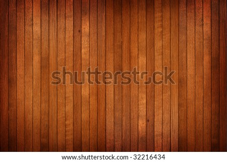 High resolution timber wall background - stock photo