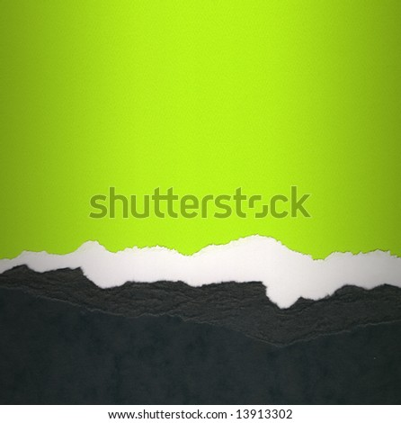 High Resolution torn card texture with copy space. - stock photo