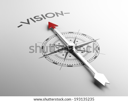 High Resolution Vision Concept - stock photo