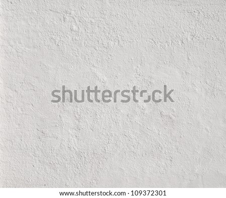 High resolution white concrete wall textured - stock photo