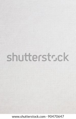 High resolution white woven texture - stock photo