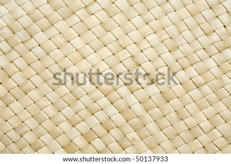 High resolution woven sea grass diagonal weave pattern of a basket