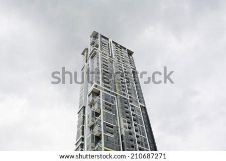 high-rise building - stock photo