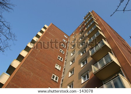 High Rise Housing Block