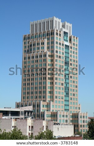 High-rise Office Building - stock photo