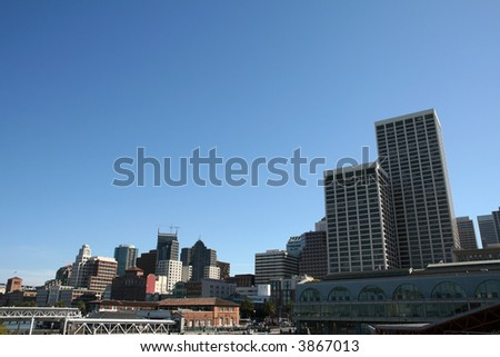 High-rise Office Buildings in Downtown San Francisco