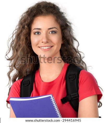 High School Student, Student, College Student. - stock photo