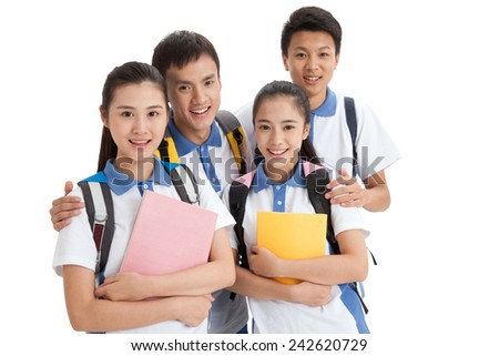 High school students