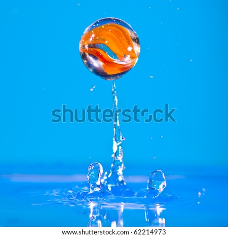 High Speed Photography - stock photo