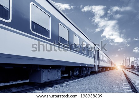 High-speed train - stock photo