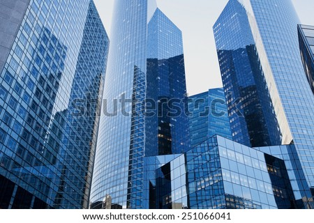 high tech business background - stock photo