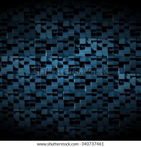 High Tech Dark Futuristic Background - stock photo