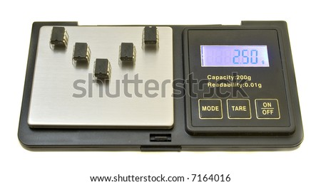 High-tech, low weight - stock photo
