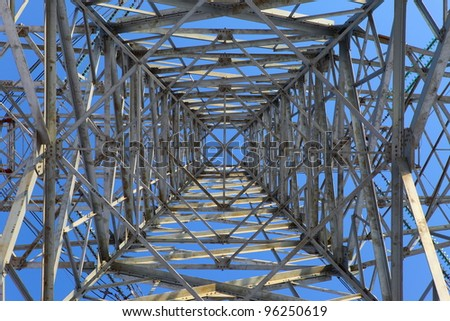 High-tension line - stock photo