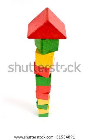 high tower - stock photo